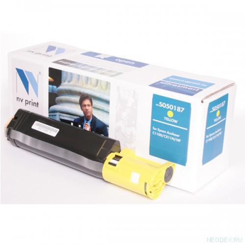 Совместимый картридж NV Print для Epson S050187 (4000 стр., желтый)