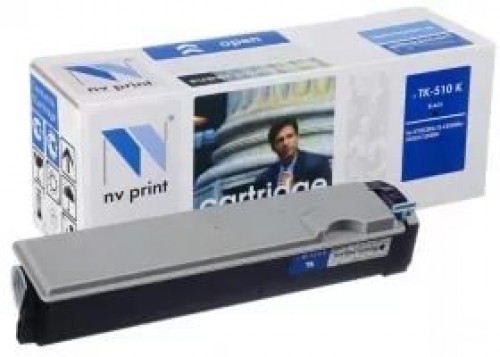 Совместимый картридж NV Print для Kyocera TK-510 Black (8000 стр., черный)