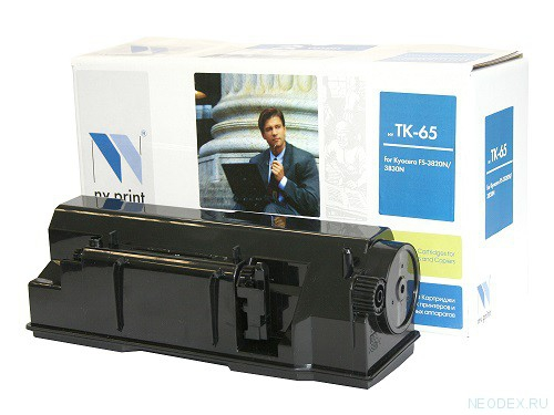 Совместимый картридж NV Print для Kyocera TK-65 (20000 стр., черный)