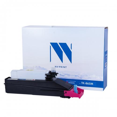 Картридж NVP совместимый NV-TK-865 Magenta для Kyocera TASKalfa 250ci/300ci (12000 стр)