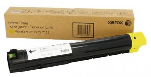006R01454/006R01462 Тонер желтый XEROX WC 7120/7220/7225,15K