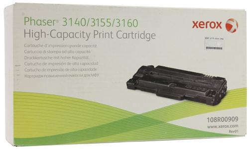 Оригинальный картридж Xerox 108R00909 (2500 стр., черный)