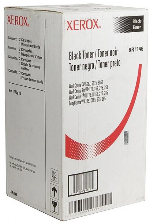 Оригинальный тонер-картридж Xerox 006R01146 2 штуки (90000 стр., черный)