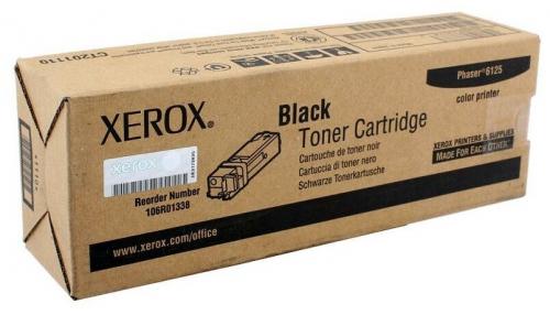 Оригинальный тонер-картридж Xerox 106R01338 (2000 стр., черный)