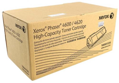 106R01536 Тонер-картридж черный, увеличенной емкости Phaser 4600/4620/4622
