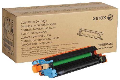 Барабан XEROX VersaLink C500/C505 голубой (40K) (108R01481/108R01510)