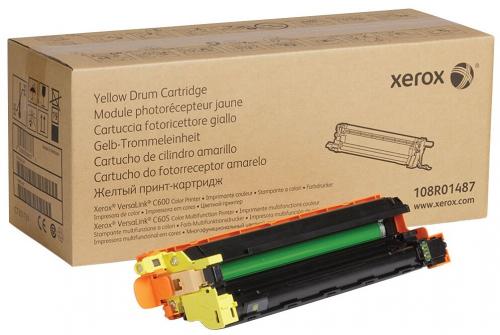 Барабан XEROX VersaLink C600/C605 желтый (40K) (108R01487/108R01516)