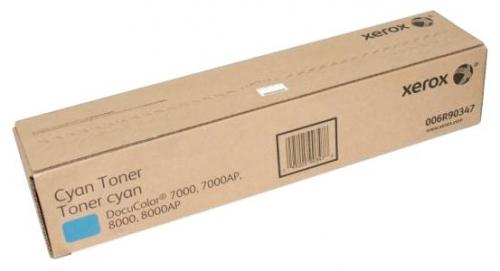 Оригинальный тонер-картридж Xerox 006R90347 (6000 стр., голубой)