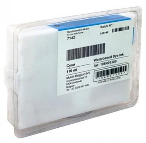Оригинальный тонер-картридж Xerox 106R01308 (110 мл., голубой)