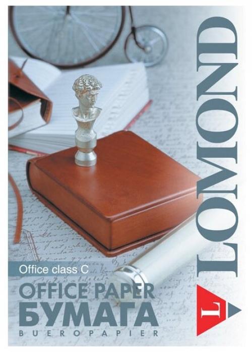 "Бумага LOMOND Office класс""С"", белизна 146% A4 80г/м2 500л (кратно 5шт)"