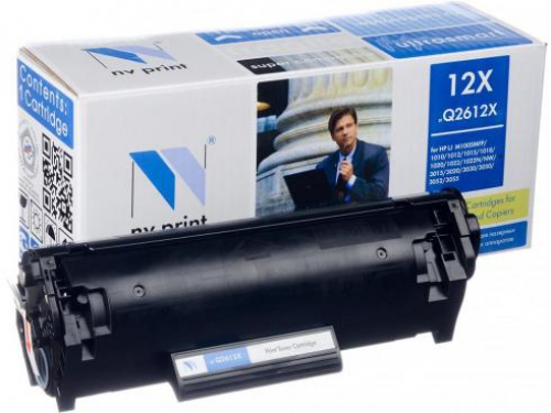 Совместимый картридж NV Print для HP Q2612X (3500 стр., черный)