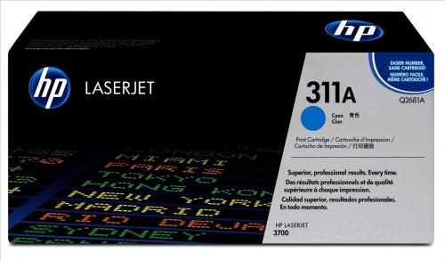 ОРИГИНАЛЬНЫЙ КАРТРИДЖ HP Q2681A (6000 СТР., ГОЛУБОЙ) ДЛЯ HP COLOR LASERJET 3700   3700N   3700DN   3700DTN   3700DTNS