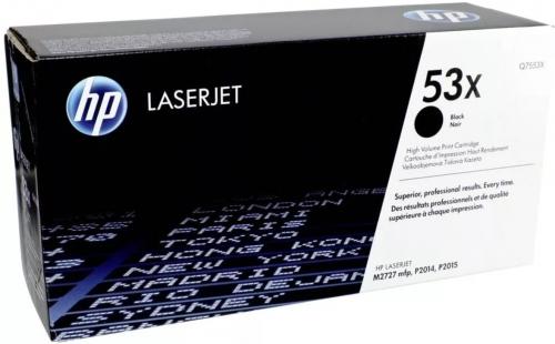 (Уценка) Картридж HP 53X Q7553X - НТВ-1 для LaserJet P2015  черный  (7 000 стр.)