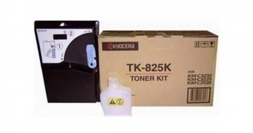 (Уценка)Тонер-картридж Kyocera TK-825K - НТВ-1 для KM C2520/C2525E/3225/3232  черный  (15 000 стр.)