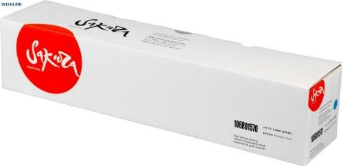 Картридж Sakura 106R01570 для Xerox Phaser 7800, 7800DN (Синий, 17200 стр)