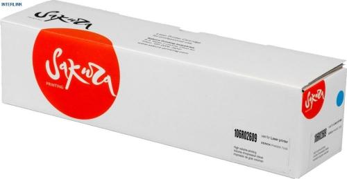 Картридж Sakura 106R02609 для Xerox Phaser 7100N 7100 (Синий, 2x4500 стр)
