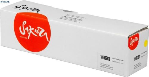 Картридж Sakura 106R02737 для Xerox Phaser 7100N 7100 (Чёрный, 6100 стр)