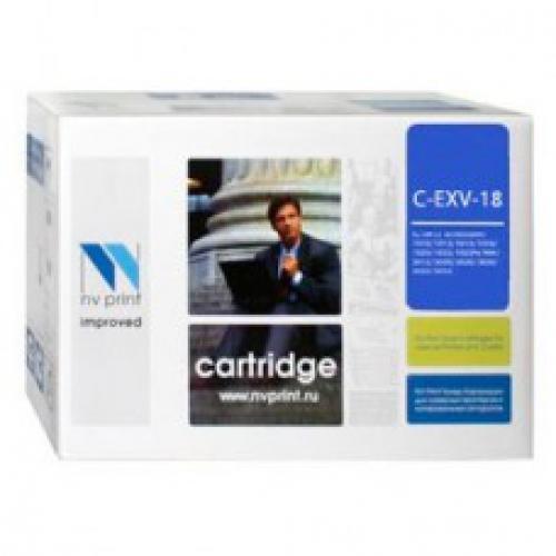 Совместимый картридж NV Print для Canon C-EXV18 (8400 стр., черный)