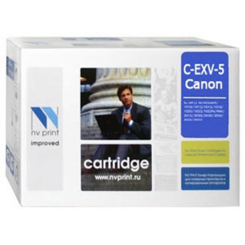 Совместимый картридж NV Print для Canon C-EXV-5 (14000 стр., черный)