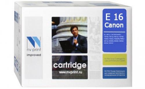 Совместимый картридж NV Print для Canon E-16 (2000 стр., черный)