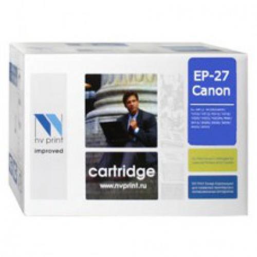 Совместимый картридж NV Print для Canon EP-27 (2500 стр., черный)