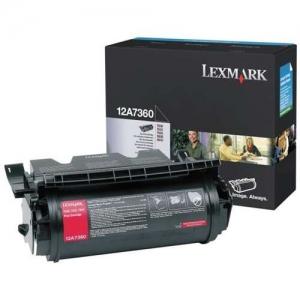 Оригинальный картридж Lexmark 12A7360 (5000 стр., черный)