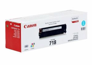 (Уценка) 2661B002 Картридж CANON 718 C - НТВ-2 для i-SENSYS LBP7210Cdn голубой (1 900 стр.)