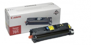 (Уценка) 9284A003 Картридж CANON 701 Y - НТВ-1 для i-SENSYS LBP5200, MF8180C желтый (5 000 стр.)