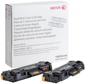 Оригинальный картридж Xerox 106R04349(черный, 6000 стр.)