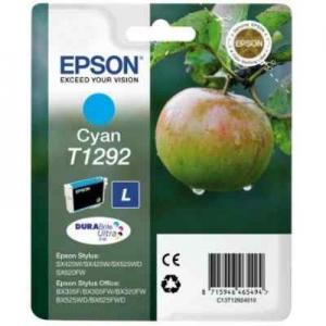 Картридж Epson C13T12924012 голубой 460 стр