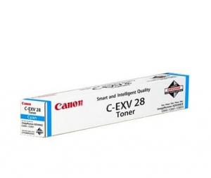 Оригинальный тонер-картридж CANON C-EXV-28 Cyan (38000 стр., голубой)