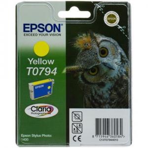 Картридж EPSON T0794 желтый повышенной емкости для P50/PX660/PX820/PX830