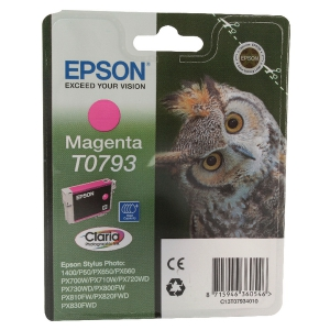 Картридж EPSON T0793 пурпурный повышенной емкости для P50/PX660/PX820/PX830