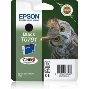 Картридж EPSON T0791 черный повышенной емкости для P50/PX660/PX820/PX830