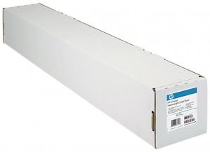 """Бумага HP с покрытием 610 мм x 45,7 м 90г/м2 втулка 2"""" / 50,8мм"""