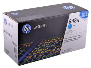 (Уценка) CE261A - НТВ-1 Картридж HP 648A для Color LaserJet CP4025, CP4525 голубой (11 000 стр.)