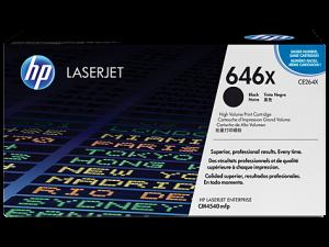 (Уценка) CE264X - НТВ-1 Картридж HP 646X для Color LaserJet CM4540, CM4540fskm черный (17 000 стр.)