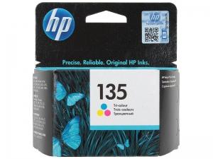 (Акция)Оригинальный картридж HP C8766HE (135) (7 мл., цветной)