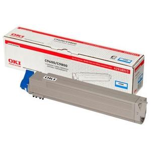 Оригинальный тонер-картридж OKI C9600/9800 (15000 стр., синий)