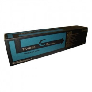 (Уценка) 1T02LCCNL0 Тонер-картридж Kyocera TK-8505C - НТВ-1 для TASKalfa4550ci/5550ci голубой (20 000 стр.)