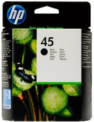 (Акция) Картридж HP 51645AЕ для Designjet 700, 750c, Plus, 755cm  черный  (42 мл.)