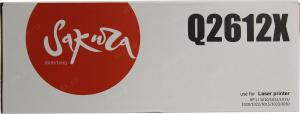 Совместимый картридж Sakura Q2612X (3000 стр., Чёрный)