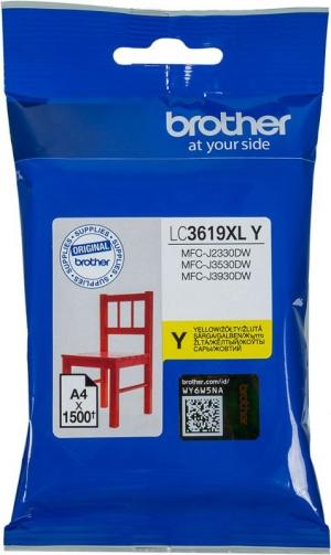 Картридж Brother LC3619XLY MFCJ3530DW/3930DW