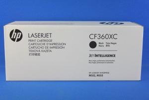 КАРТРИДЖ HP 508X (CF360XC) (12500 СТР, ЧЁРНЫЙ) ДЛЯ HP COLOR LASERJET ENTERPRISE M552DN, M553DN / M553N / M553X