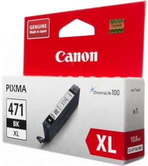 (Акция) Картридж Canon CLI-471XLBK 0346C001