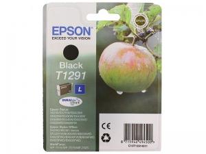 Картридж EPSON T1291 С13Е12914012(черный, 325 стр.)