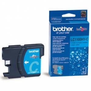 Оригинальный картридж BROTHER LC1100C (325 стр., голубой)