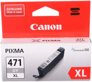 Картридж CANON CLI-471XL GY (grey)