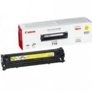 (Уценка) 1977B002 Картридж CANON 716 Y - НТВ-1 для i-SENSYS LBP5050, LBP5050N, MF8030 желтый (1 500 стр.)