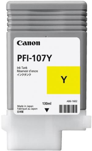 (Уценка)Картридж Canon PFI-107Y 6708B001